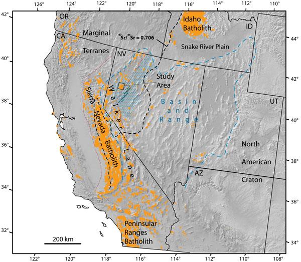 Sierra Nevada Maps